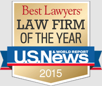 Best Lawyers Law Firm of the Year U. S. News 2015